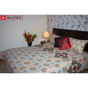 Leaf Paisley Bed Sheet